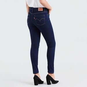 Levi's Jeans - Levi's 721 High Rise Skinny Jeans • Dark Wash